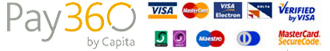 accepted credit and debit cards
