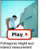 Pythagoras indirect measurement
