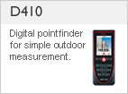 DISTO &#8482 D410 - Simple Outdoor Measure;