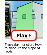 D5 Trapezium function: How to measure the slope of roofs
