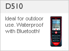 DISTO &#8482 D510 - Waterproof - With Bluetooth