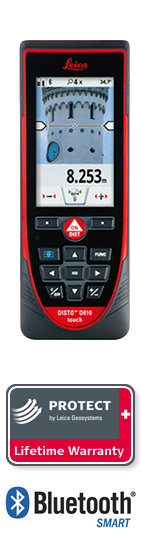 DISTO D810 Touch. with Leica Protect Lifetime Warranty. Next day delivery.