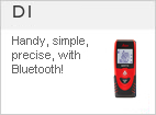DISTO &#8482 D1 - Handy, simple, precise, with Bluetooth!