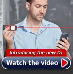 Leica D1 - Laser Measure with free app