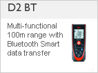 DISTO &#8482 D2 B - The smallest laser distance meter in the world