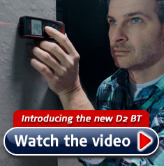 Leica D2 Bluetooth - Laser Measure with free app