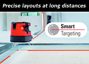 Leica Lino ML180 - Smart Targeting for precise layouts at long distances