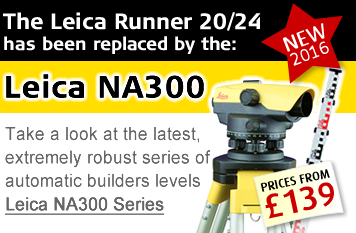 The Leica Runner has been replaced by the Leica NA300 Series