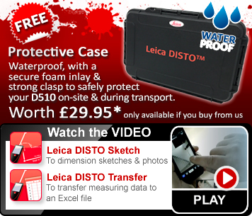 Leica DISTO 8510 - bring the office to the construction site with DISTO Sketch and Transfer