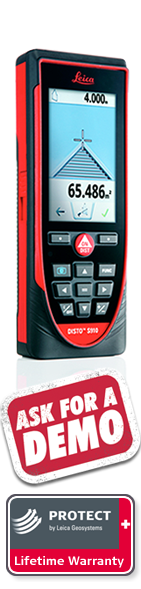 DISTO S910 with Leica Protect Lifetime Warranty. Next day delivery.